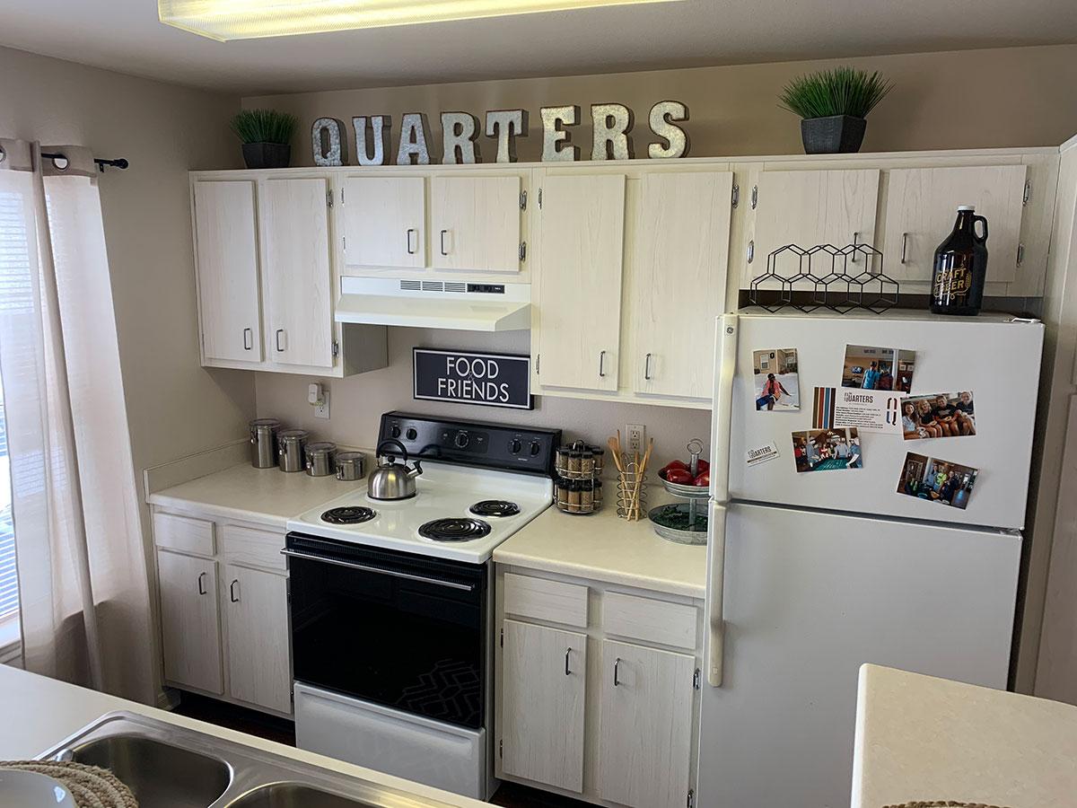 The Quarters Cedar Falls Kitchen