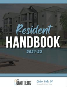 Quarters Cedar Falls Resident Handbook